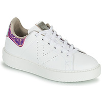 Chaussures Femme Baskets basses Victoria UTOPIA HOLOG Blanc