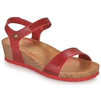 Chaussures Femme Sandales et Nu-pieds Panama Jack CAPRI Rouge