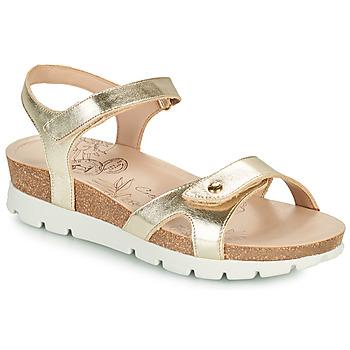 Chaussures Femme Sandales et Nu-pieds Panama Jack SULIA SHINE Doré