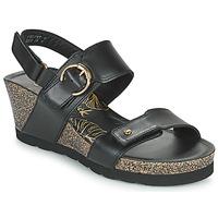 Chaussures Femme Sandales et Nu-pieds Panama Jack VELVET Noir