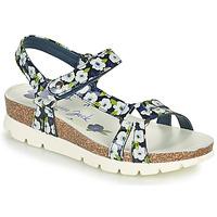 Chaussures Femme Sandales et Nu-pieds Panama Jack SALLY GARDEN Bleu