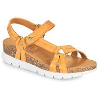 Chaussures Femme Sandales et Nu-pieds Panama Jack SALLY BASICS Jaune