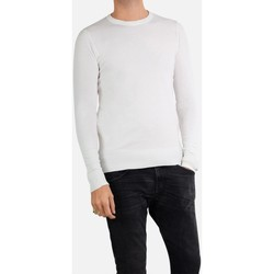 Vêtements Homme Pulls Kebello Pull manches longues col rond Taille : H Blanc S Blanc