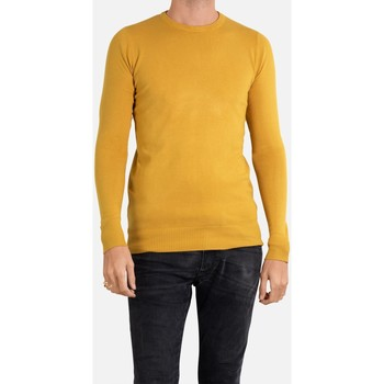 Vêtements Homme Pulls Kebello Pull manches longues col rond Taille : H Jaune S Jaune