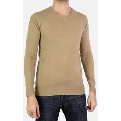 Vêtements Homme Pulls Kebello Pull manches longues col V Taille : H Beige S Beige
