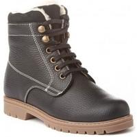 Chaussures Garçon Boots Cbp - Conbuenpie  Noir