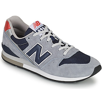 Chaussures Homme Baskets basses New Balance 996 Gris / Bleu / Rouge