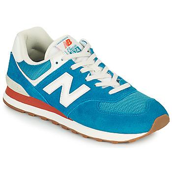 Chaussures Homme Baskets basses New Balance 574 Bleu / Blanc