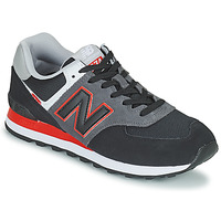 Chaussures Homme Baskets basses New Balance 574 Gris/ Rouge