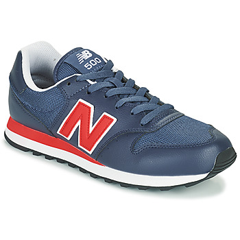 Chaussures Homme Baskets basses New Balance 500 Bleu / Rouge
