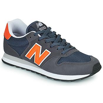 Chaussures Homme Baskets basses New Balance 500 Bleu / Orange