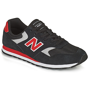 Chaussures Homme Baskets basses New Balance 393 Noir / Rouge