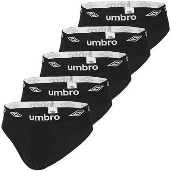 Sous-vêtements Homme Slips Umbro Lot de 5 slips coton homme Noir