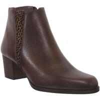 Chaussures Femme Bottines Folies Floyd Marron cuir