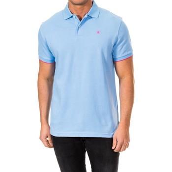 Vêtements Homme Polos manches courtes Hackett Str Inner Clr Hackett Londres Bleu