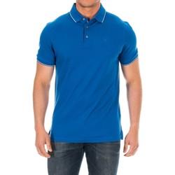 Vêtements Homme Polos manches courtes Hackett Polo à manches courtes Bleu