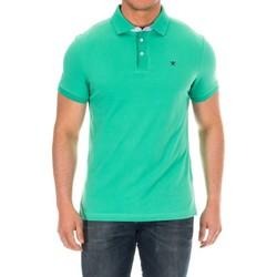 Vêtements Homme Polos manches courtes Hackett Polo à manches courtes Vert