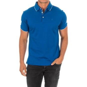 Vêtements Homme Polos manches courtes Hackett Polo M / Short Bleu