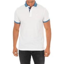 Vêtements Homme Polos manches courtes Hackett Polo M / Short Blanc