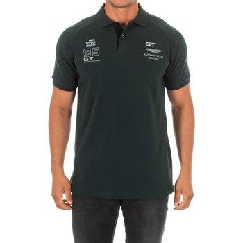 Vêtements Homme Polos manches courtes Hackett Polo Hackett Vert