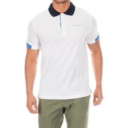 Vêtements Homme Polos manches courtes Hackett Polo de golf Blanc