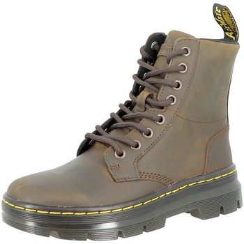 Chaussures Femme Bottines Dr Martens COMBS LEATHER Marron