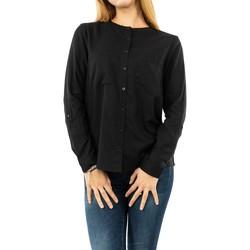 Vêtements Femme Chemises / Chemisiers Street One solid buttoned w pocket 10001 black noir