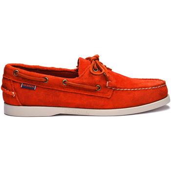 Chaussures Femme Chaussures bateau Sebago Chaussure bateau Orange