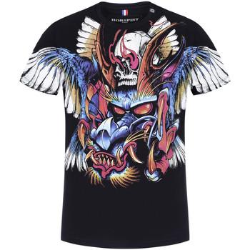 Vêtements Homme T-shirts manches courtes Horspist Tee-shirt Noir