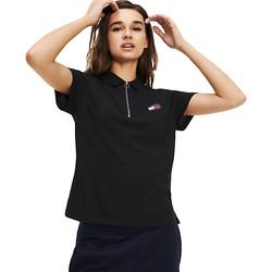 Vêtements Femme Polos manches courtes Tommy Jeans Tommy badge Noir