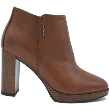 Chaussures Femme Bottines NeroGiardini Bottine en cuir Cuoio