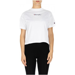 Vêtements Femme T-shirts & Polos Champion CREWNECK T-SHIRT ww001-wht