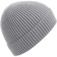 Accessoires textile Bonnets Beechfield BC380 Gris clair