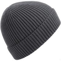 Accessoires textile Bonnets Beechfield BC380 Gris foncé