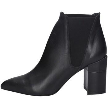 Chaussures Femme Low boots Marlena MARLENA  A801V2 BOTTES Femme NOIR NOIR