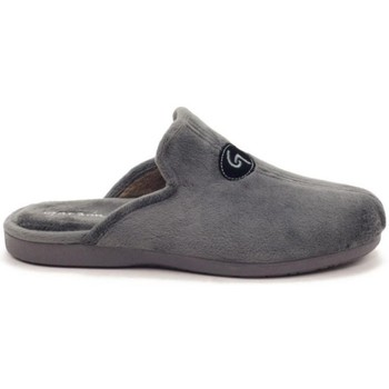 Chaussures Homme Chaussons Garzon 6101 TERCIOPELO GRIS Zapatillas