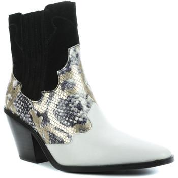 Chaussures Femme Bottines Sixty Seven Koper Blanc