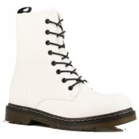 Chaussures Femme Boots Cendriyon Bottines Blanc Chaussures Femme Blanc