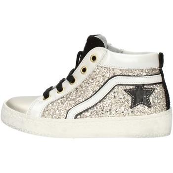 Chaussures Fille Baskets montantes Balocchi 606526 Platine