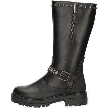 Chaussures Fille Bottes ville Café Noir C785 Noir