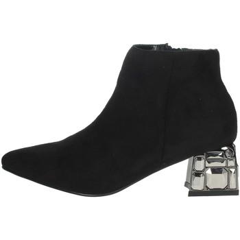 Chaussures Femme Bottines Menbur 22098 Noir