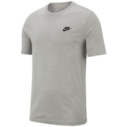 Vêtements Homme T-shirts manches courtes Nike T-SHIRT  CLUB / GRIS Gris