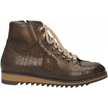 Chaussures Homme Baskets montantes Edward's DUOMO marrone