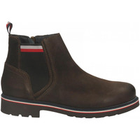 Chaussures Homme Boots Tommy Hilfiger CORPORATE ELASTIC SU cocoa
