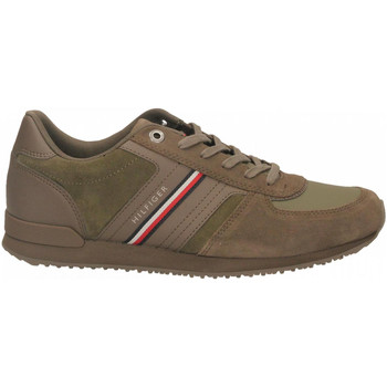 Chaussures Homme Baskets mode Tommy Hilfiger ICONIC SUEDE RUNNER ridgewood