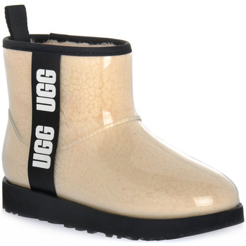 Chaussures Femme Bottines UGG CLASSIC CLEAR MINI NATURAL Beige
