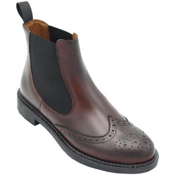 Chaussures Femme Bottines Frau AFRAU95L7mar marrone