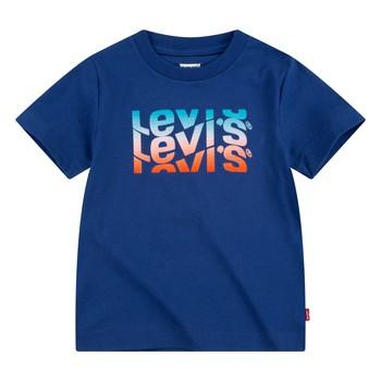 Vêtements Garçon T-shirts manches courtes Levi's 9EC826-U29 Marine