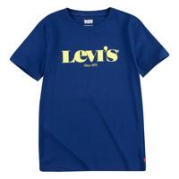 Vêtements Garçon T-shirts manches courtes Levi's GRAPHIC TEE Bleu