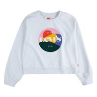 Vêtements Fille Sweats Levi's GHIULIA Blanc